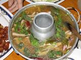 魚介のハーブスープ