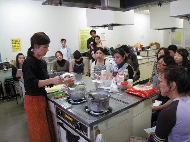 料理教室の受講