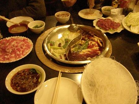 重慶式火鍋