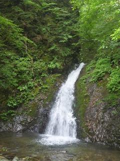 風挙の滝②