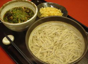 きのこつけ麺