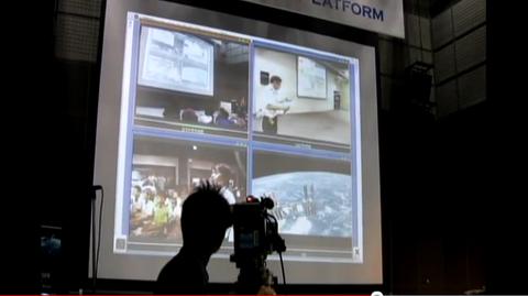 中継イベント画像201108古川宇宙飛行士