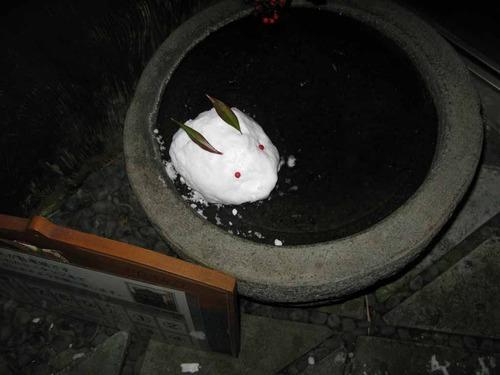 01_雪ウサギ