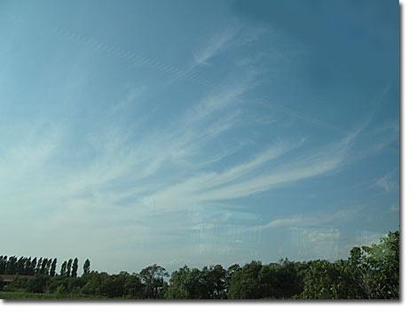 空知の秋の空