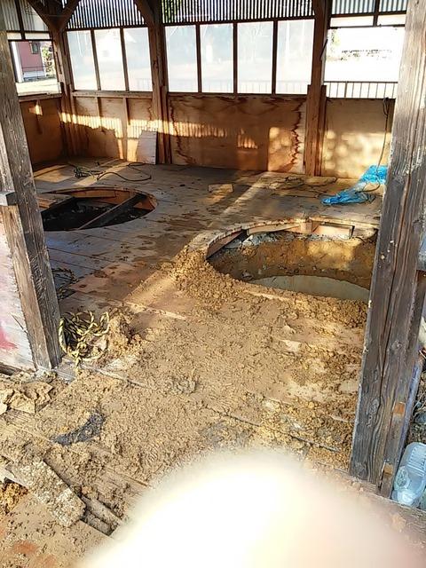 20160113_02井戸埋め屋内作業後