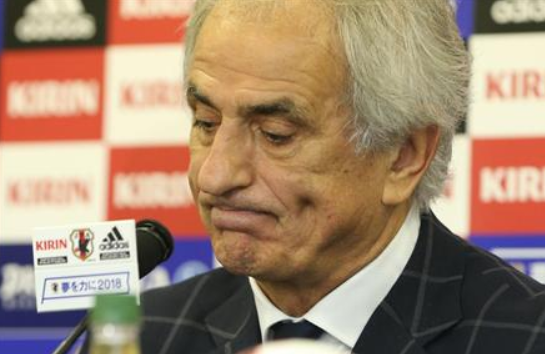 「ブラジル相手だったら10失点」ハリル監督謝罪