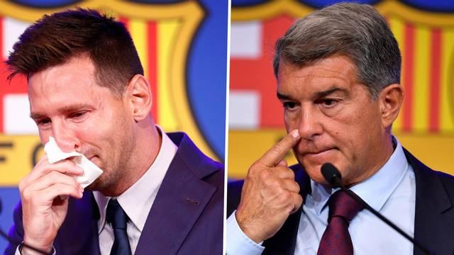 【バルセロナ】ラポルタ会長「メッシが無償でプレーすると…」