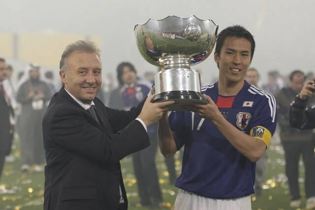 ザッケローニが選ぶ日本代表ベストイレブン