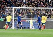 日本、コロンビアに1-0で敗戦…前半好機も得点奪えずPKに沈む