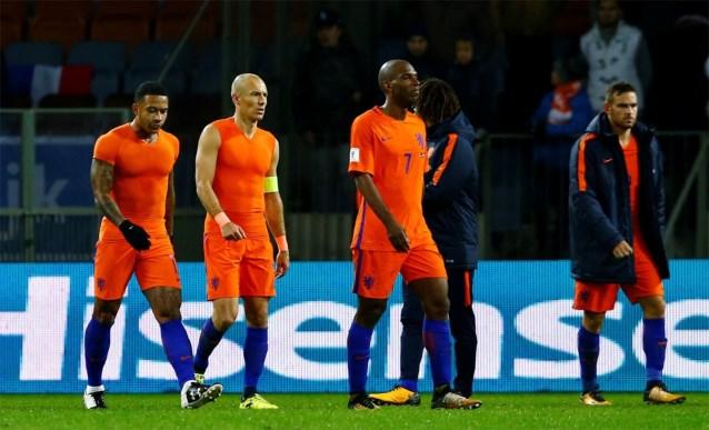 オランダ敗退