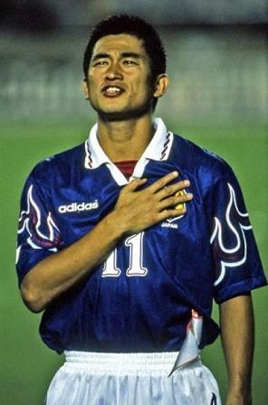 好きな歴代日本人サッカー選手ひとりあげるとしたら?