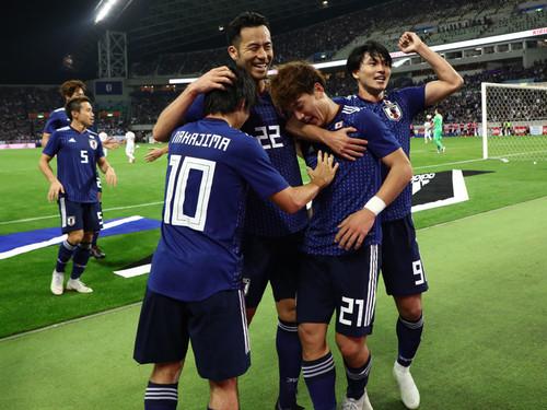 日本代表の選手達
