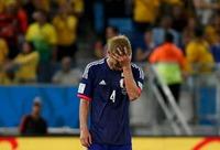 本田悔し泣き
