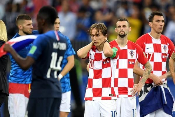 W杯初優勝を逃したクロアチア代表に足りなかったものって