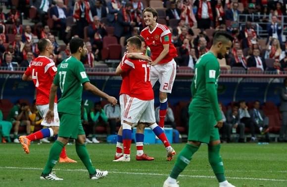 ロシアゴール