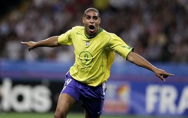 元ブラジル代表アドリアーノの思い出
