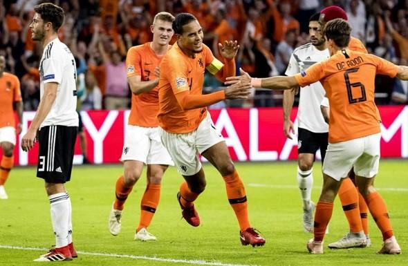 オランダに敗れたドイツ