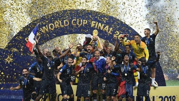 フランス優勝