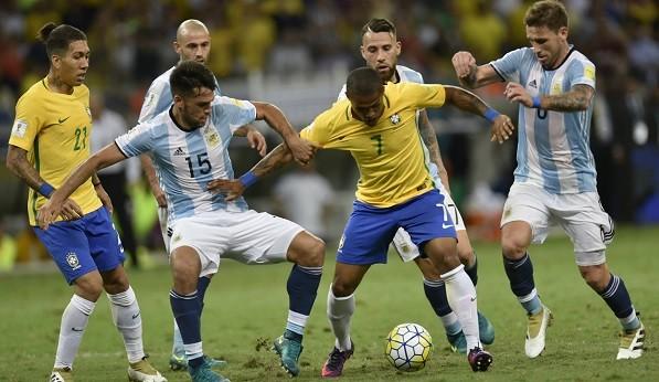 ブラジルアルゼンチン