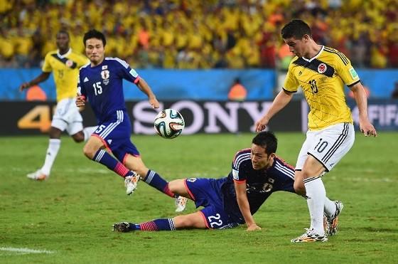 日本vsコロンビア
