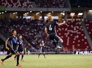 日本、シンガポールに3-0快勝!金崎ボレー代表初弾に本田麻也も