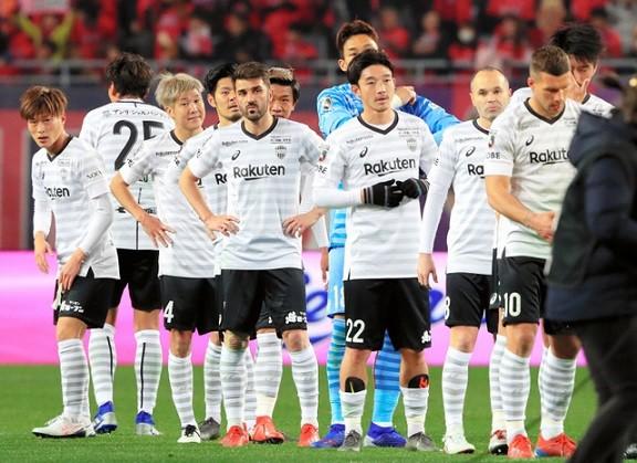 神戸の選手達