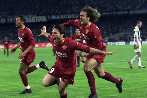 ローマ優勝時の