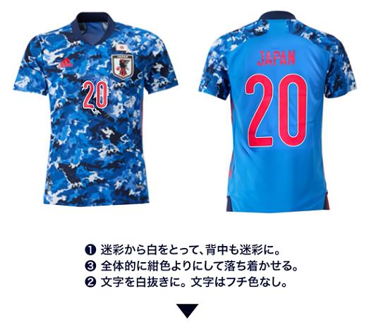 日本代表ユニ
