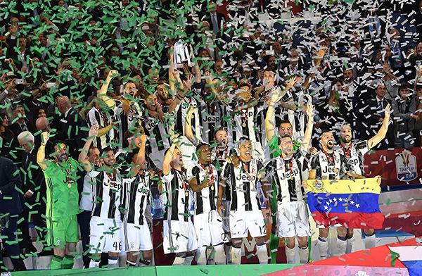 ユーヴェ、3年連続12回目の戴冠 3冠に向けて第一歩/コッパ・イタリア
