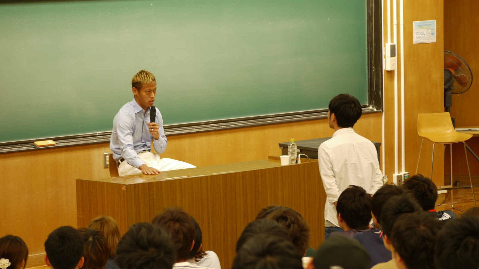 """本田圭佑の""""誘惑""""への立ち向かい方とは?「人間というのは負けるようにできている」"""