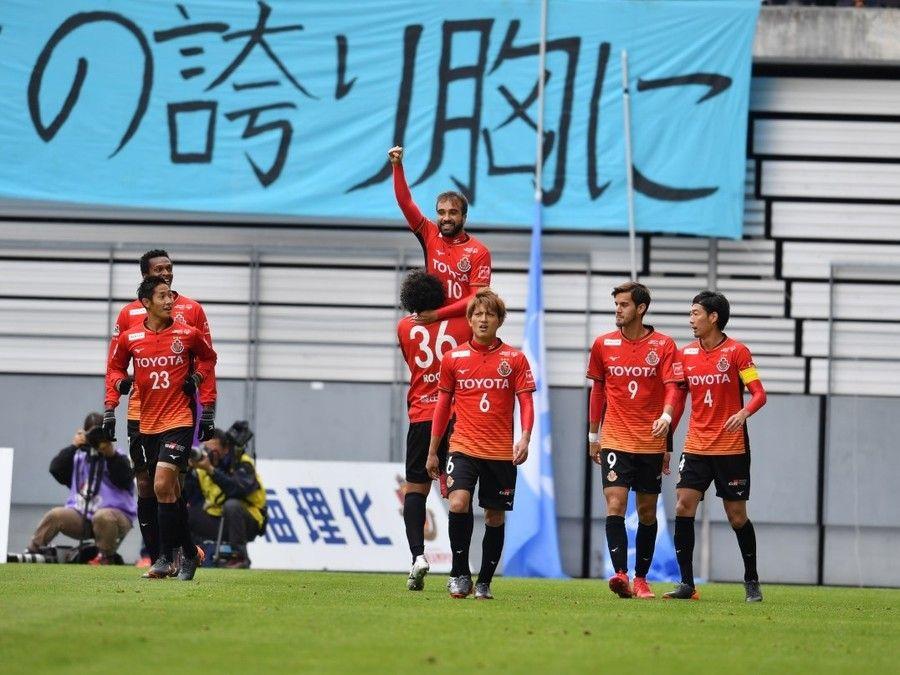 【サッカー/J1第2節】名古屋シャビエル連発で開幕2連勝!!磐田は後半の好機決めきれず連敗発進