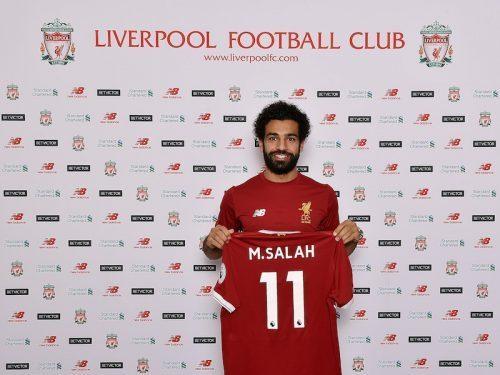 <リヴァプール>ローマからエジプト代表MFモハメド・サラーの獲得を発表!移籍金はクラブ最高額52億円