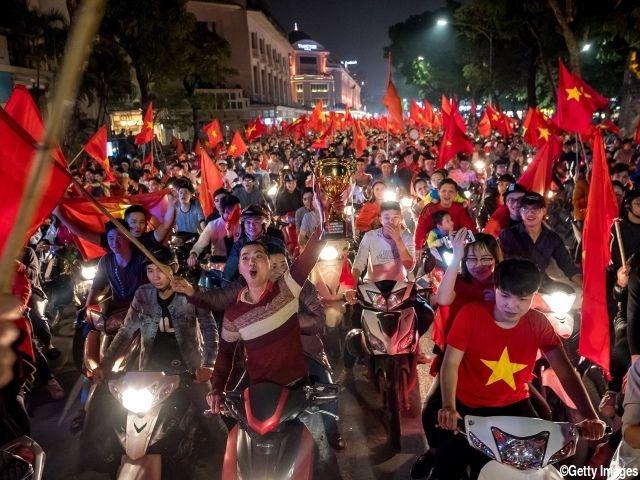"<U-23ベトナム代表が快進撃!>国民熱狂に日本領事館も""注意喚起""「興奮した市民が多数バイクを乗り回して・・」"