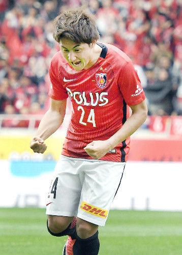 【浦和】4連勝で首位キープ…関根1号「やらないといけない」