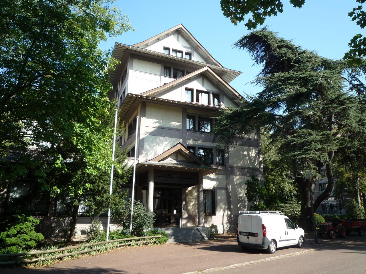 Cit internationale universitaire de paris - Maison du japon a paris ...