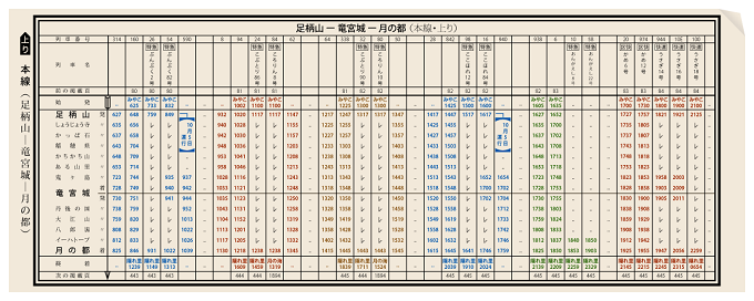 first-published-timetable-in-japan