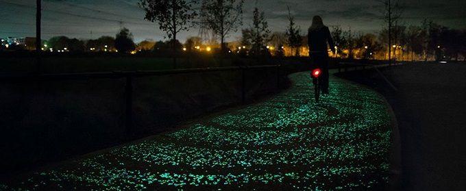 piste-cyclable-phosphorescente-pays-bas