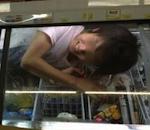 【バカッター】「ミニストップ冷凍庫寝転び」投稿で書類送検へ…威力業務妨害の疑い