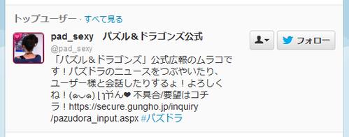 【悲報】パズドラ公式広報のムラコのTwitterアカウントが凍結