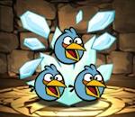 【パズドラ】アングリーバードコラボの青色集めるには何級回るのがいい??