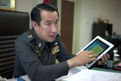 【悲報】 SNS「LINE」、タイ警察が導入