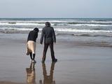 波と戯れる…N氏撮影