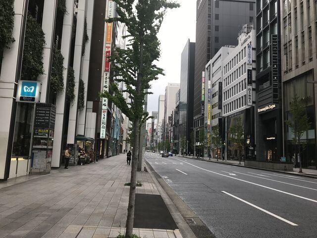 東京 銀座通り