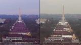 オバマとトランプの動員数比較