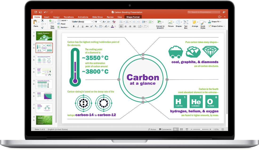 office mac 2016 powerpoint
