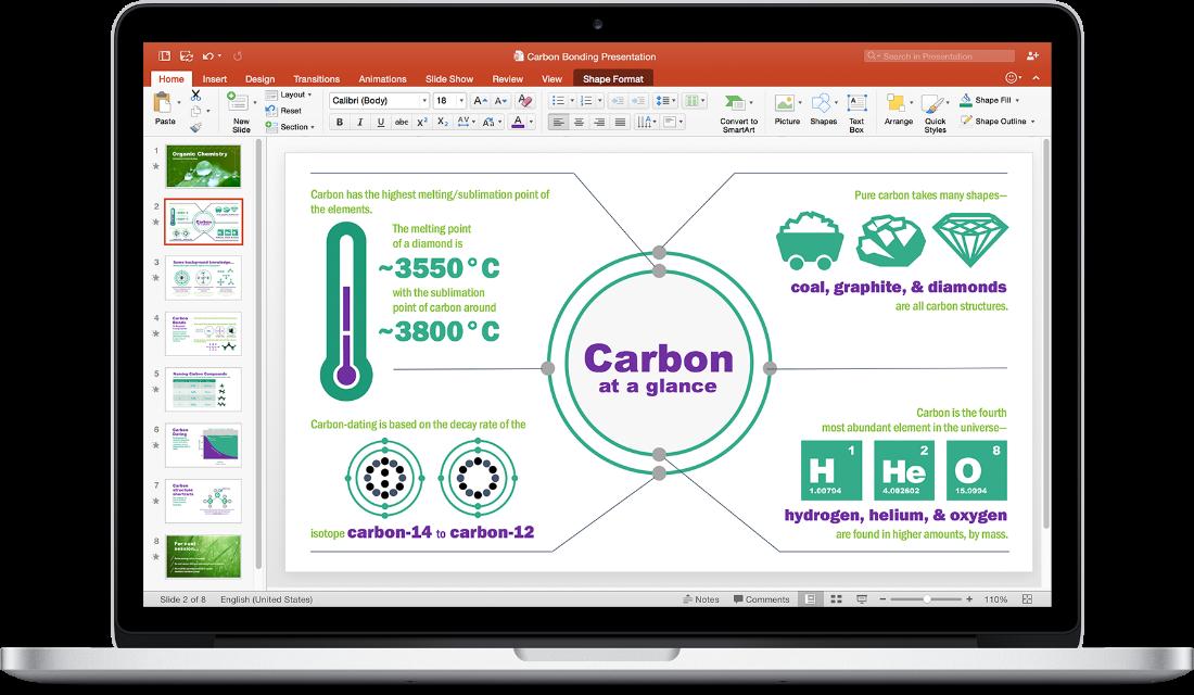 Office 2016 for Macの提供を開始