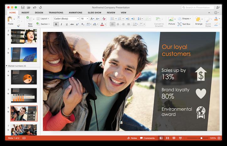 「Office 2016 for Mac」が正式デビュー。まずはOffice 365ユーザーへ