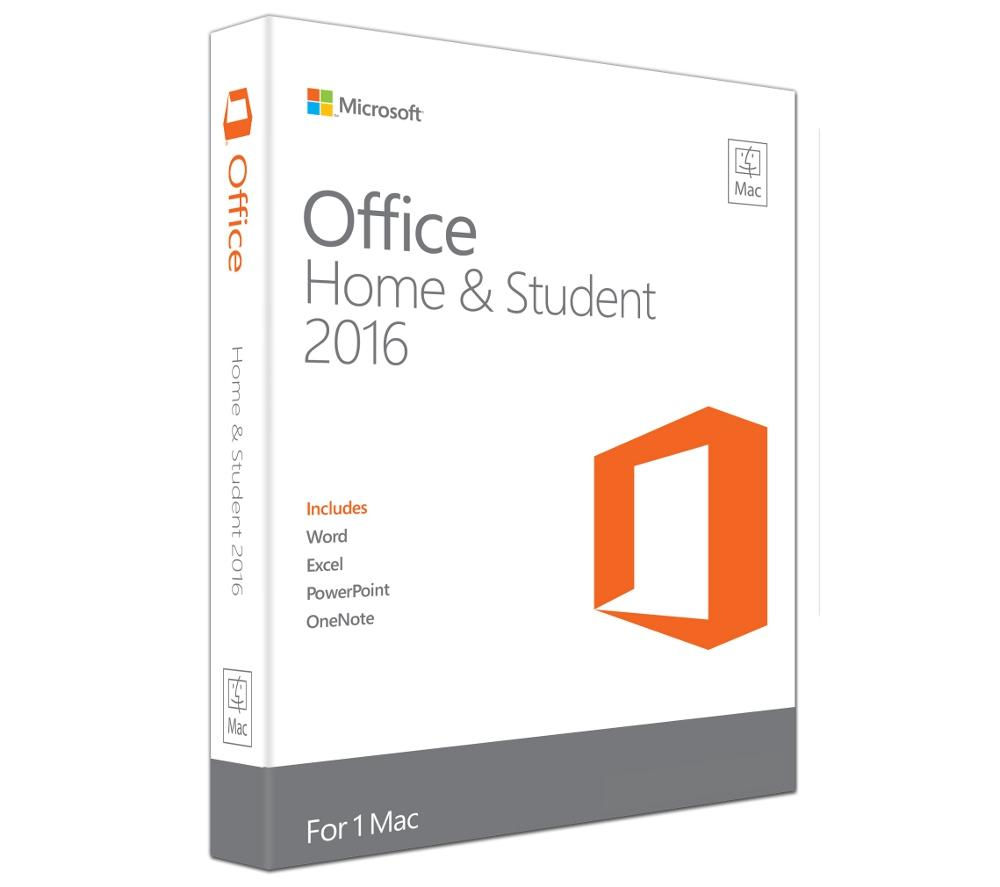 Office MAC 2016 Home & Student