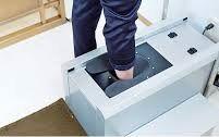 1足形計測写真