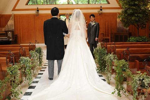 結婚式ドレスのスカートデザイン